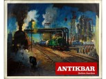 AntikBar Poster Auction BritishRailways ServiceToIndustry TerenceCuneo 1August2020